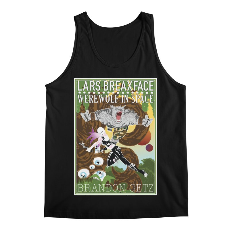 Lars Breaxface Cover - Brian Price Men's Regular Tank by Spaceboy Books LLC's Artist Shop