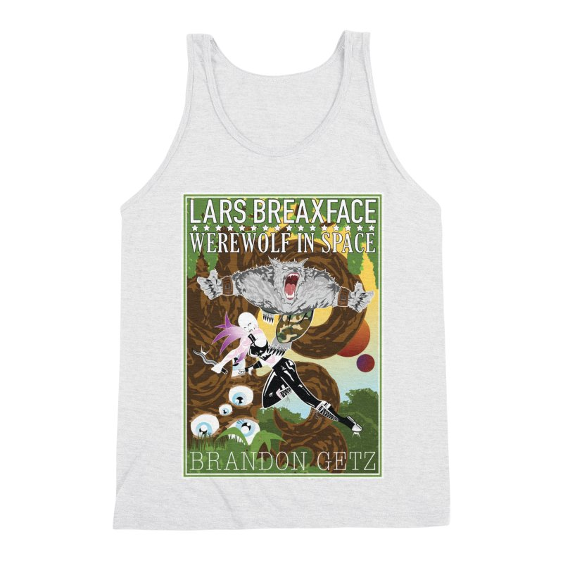 Lars Breaxface Cover - Brian Price Men's Triblend Tank by Spaceboy Books LLC's Artist Shop