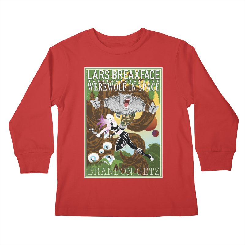 Lars Breaxface Cover - Brian Price Kids Longsleeve T-Shirt by Spaceboy Books LLC's Artist Shop