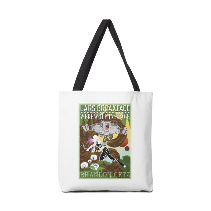 Lars Breaxface Cover - Brian Price Accessories Tote Bag Bag by Spaceboy Books LLC's Artist Shop