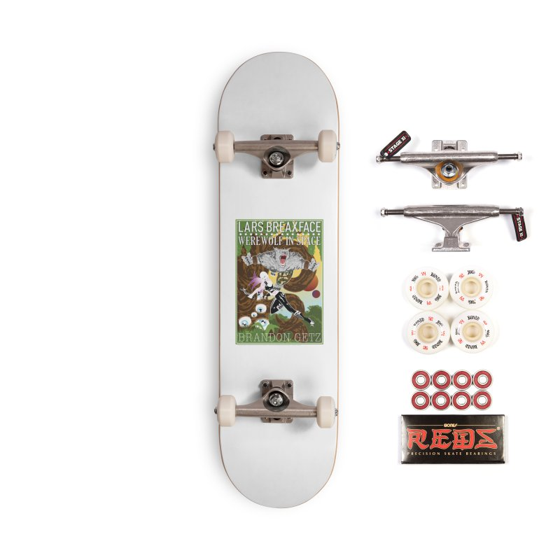 Lars Breaxface Cover - Brian Price Accessories Complete - Pro Skateboard by Spaceboy Books LLC's Artist Shop