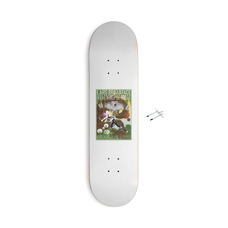 Lars Breaxface Cover - Brian Price Accessories With Hanging Hardware Skateboard by Spaceboy Books LLC's Artist Shop