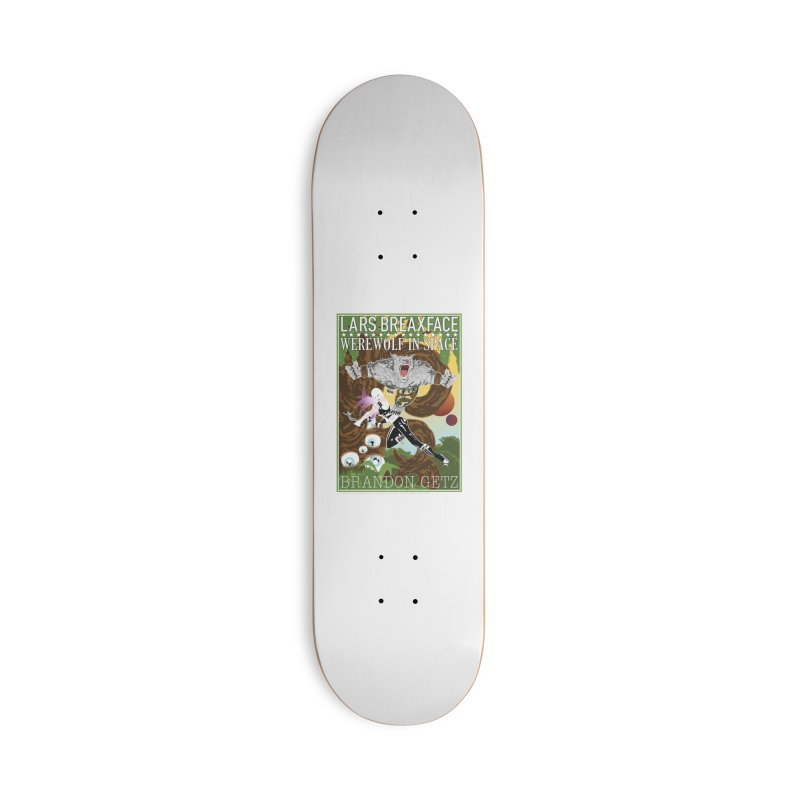 Lars Breaxface Cover - Brian Price Accessories Skateboard by Spaceboy Books LLC's Artist Shop