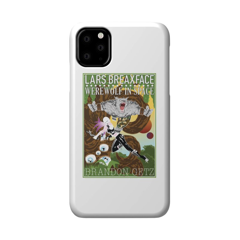 Lars Breaxface Cover - Brian Price Accessories Phone Case by Spaceboy Books LLC's Artist Shop