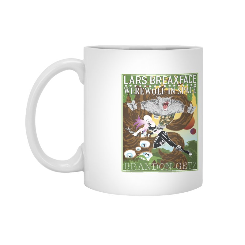 Lars Breaxface Cover - Brian Price Accessories Mug by Spaceboy Books LLC's Artist Shop