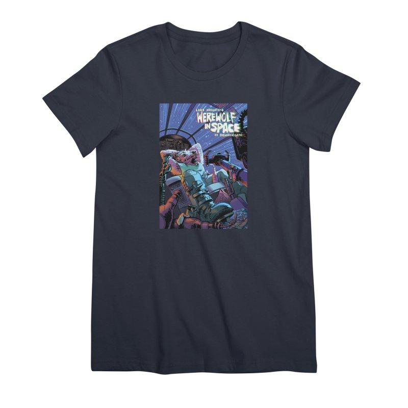 Lars Breaxface Cover - Jonas Goonface Women's Premium T-Shirt by Spaceboy Books LLC's Artist Shop