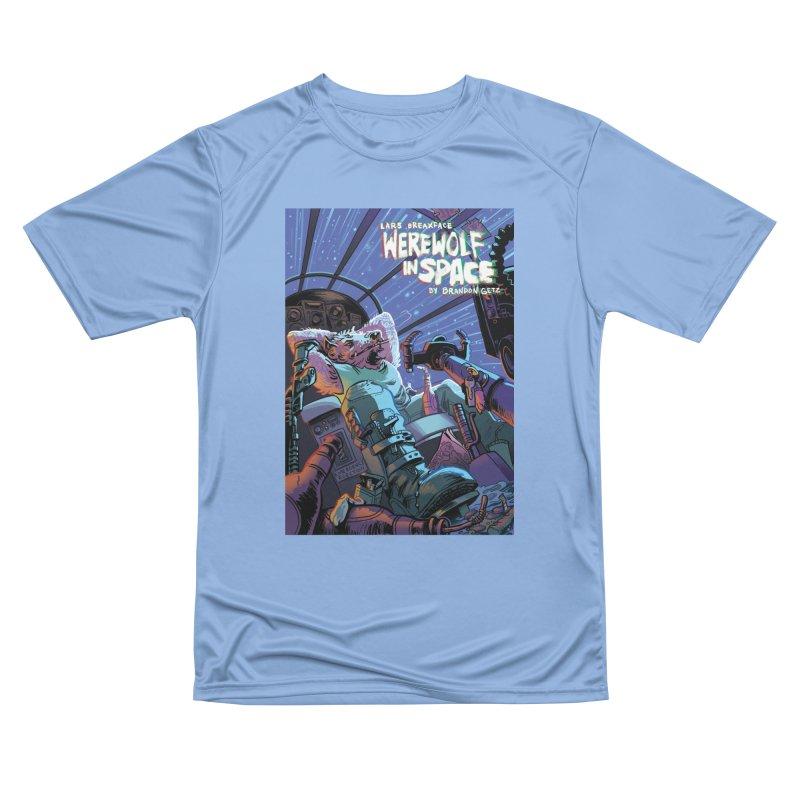 Lars Breaxface Cover - Jonas Goonface Women's Performance Unisex T-Shirt by Spaceboy Books LLC's Artist Shop