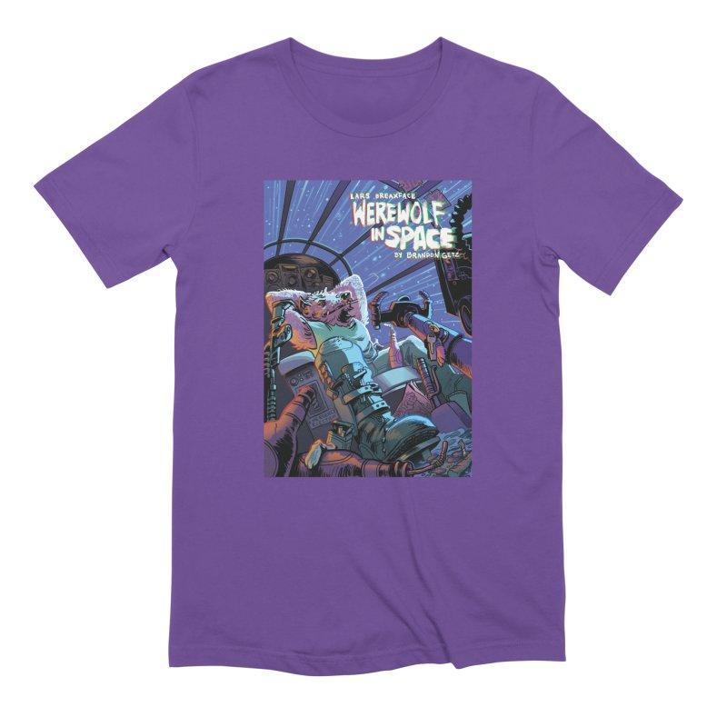 Lars Breaxface Cover - Jonas Goonface Men's Extra Soft T-Shirt by Spaceboy Books LLC's Artist Shop