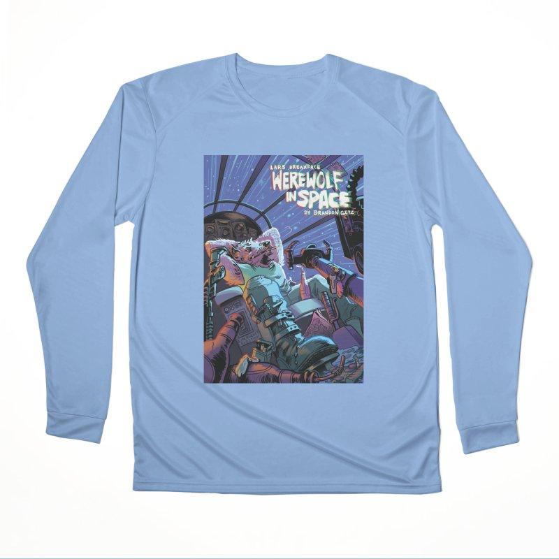 Lars Breaxface Cover - Jonas Goonface Women's Performance Unisex Longsleeve T-Shirt by Spaceboy Books LLC's Artist Shop
