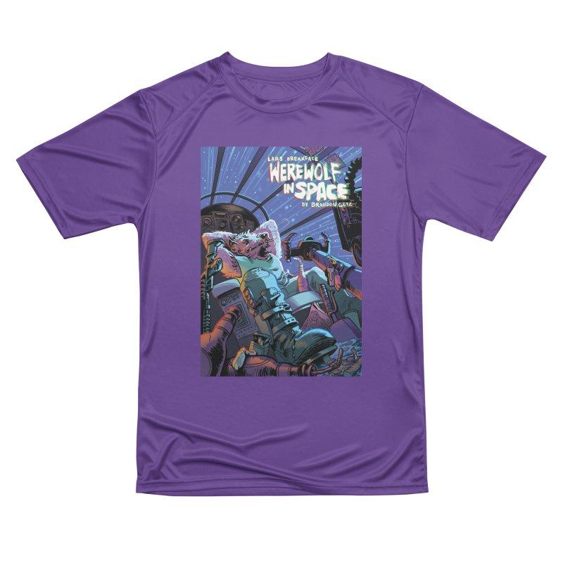 Lars Breaxface Cover - Jonas Goonface Men's Performance T-Shirt by Spaceboy Books LLC's Artist Shop