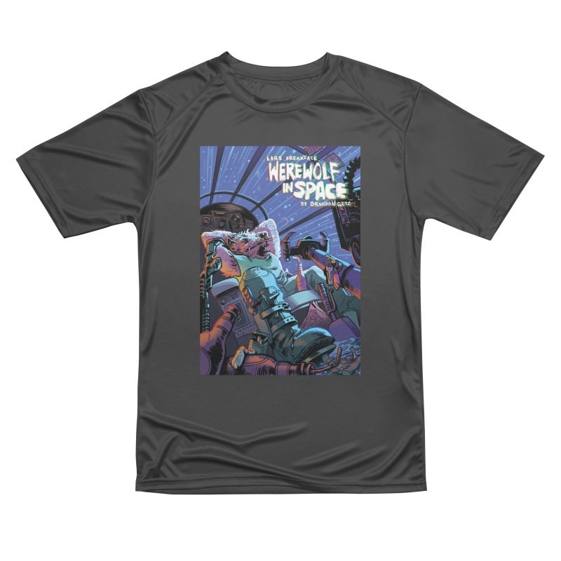 Lars Breaxface Cover - Jonas Goonface Men's Performance T-Shirt by Spaceboy Books LLC's Artist Shop