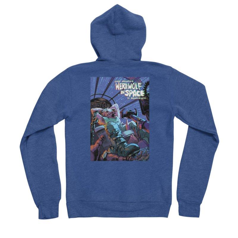 Lars Breaxface Cover - Jonas Goonface Men's Sponge Fleece Zip-Up Hoody by Spaceboy Books LLC's Artist Shop