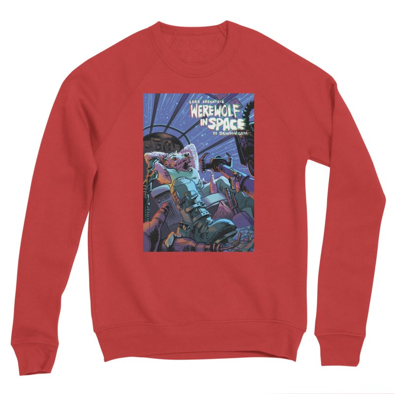 Lars Breaxface Cover - Jonas Goonface Men's Sponge Fleece Sweatshirt by Spaceboy Books LLC's Artist Shop