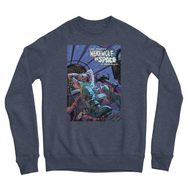 Lars Breaxface Cover - Jonas Goonface Women's Sponge Fleece Sweatshirt by Spaceboy Books LLC's Artist Shop