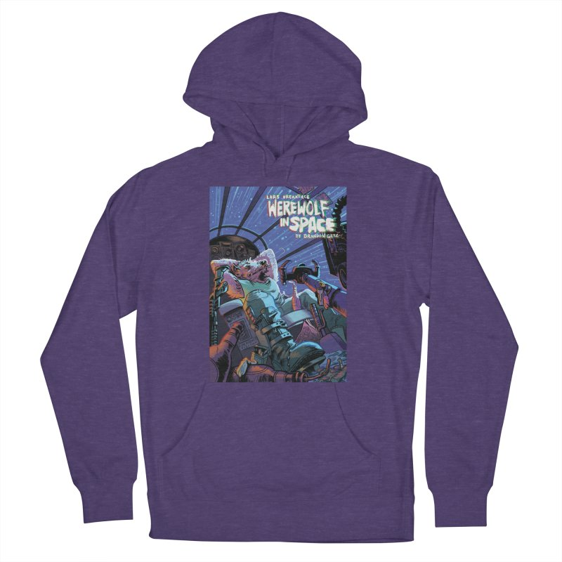 Lars Breaxface Cover - Jonas Goonface Men's French Terry Pullover Hoody by Spaceboy Books LLC's Artist Shop