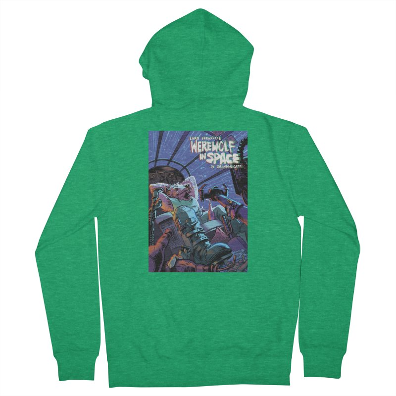 Lars Breaxface Cover - Jonas Goonface Women's French Terry Zip-Up Hoody by Spaceboy Books LLC's Artist Shop