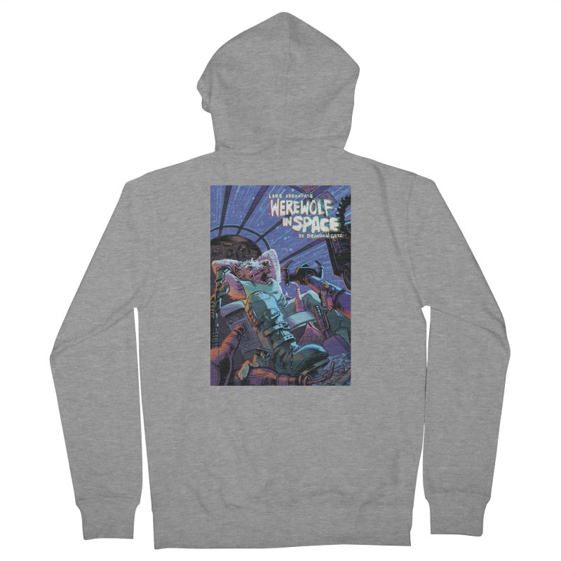 Lars Breaxface Cover - Jonas Goonface Men's French Terry Zip-Up Hoody by Spaceboy Books LLC's Artist Shop