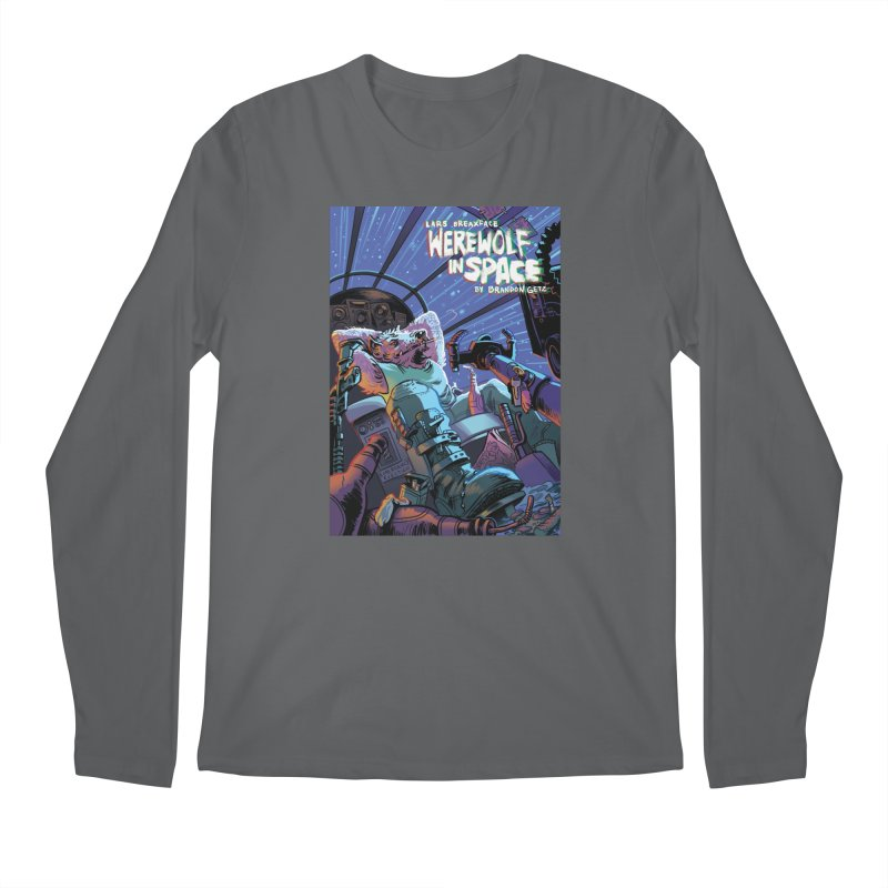 Lars Breaxface Cover - Jonas Goonface Men's Regular Longsleeve T-Shirt by Spaceboy Books LLC's Artist Shop