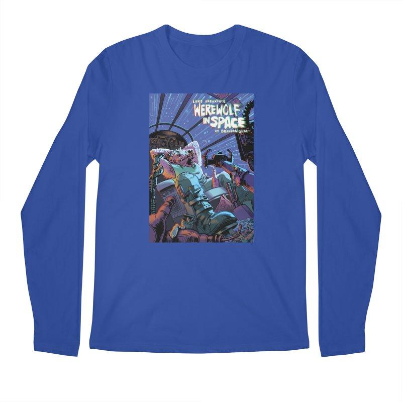 Lars Breaxface Cover - Jonas Goonface Men's Longsleeve T-Shirt by Spaceboy Books LLC's Artist Shop