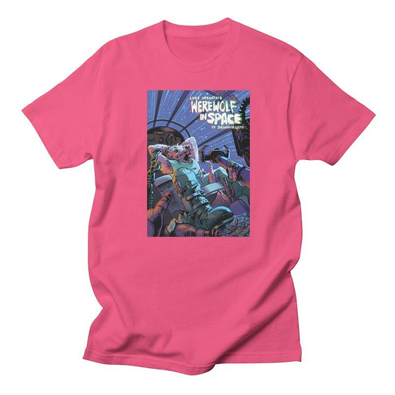 Lars Breaxface Cover - Jonas Goonface Men's Regular T-Shirt by Spaceboy Books LLC's Artist Shop