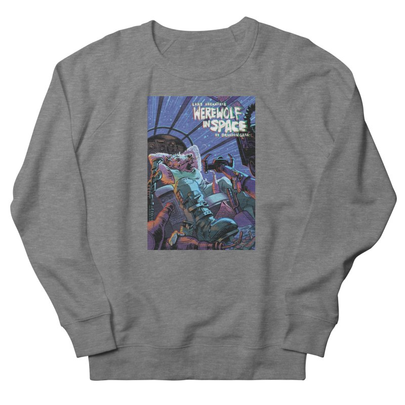 Lars Breaxface Cover - Jonas Goonface Men's French Terry Sweatshirt by Spaceboy Books LLC's Artist Shop
