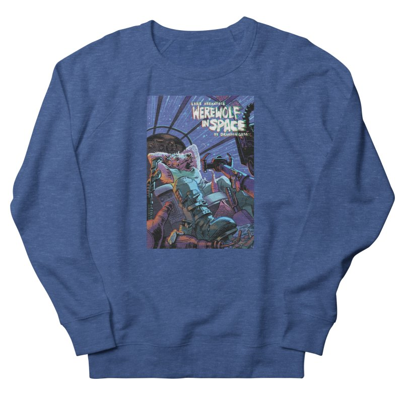 Lars Breaxface Cover - Jonas Goonface Men's Sweatshirt by Spaceboy Books LLC's Artist Shop