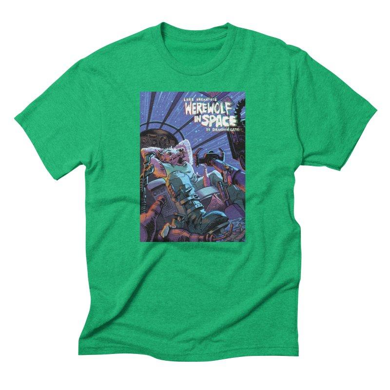 Lars Breaxface Cover - Jonas Goonface Men's T-Shirt by Spaceboy Books LLC's Artist Shop