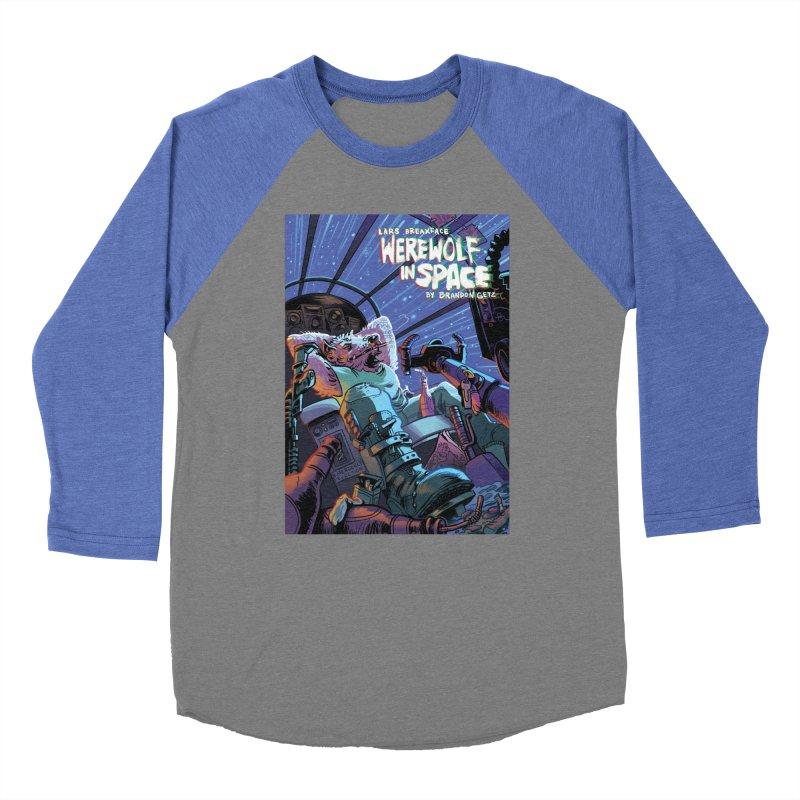 Lars Breaxface Cover - Jonas Goonface Women's Baseball Triblend Longsleeve T-Shirt by Spaceboy Books LLC's Artist Shop