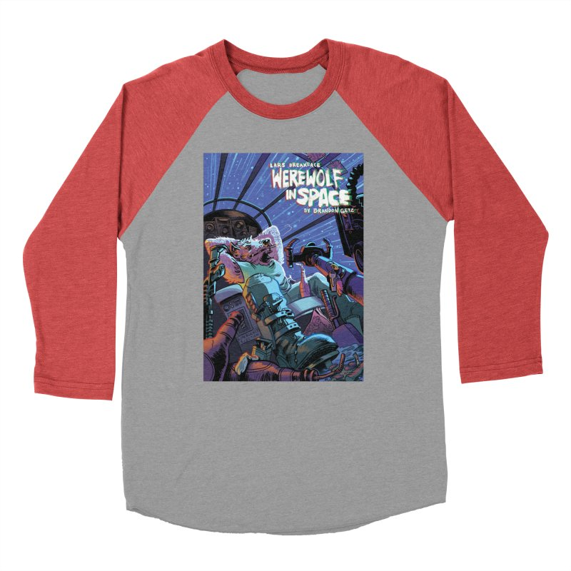 Lars Breaxface Cover - Jonas Goonface Men's Baseball Triblend Longsleeve T-Shirt by Spaceboy Books LLC's Artist Shop