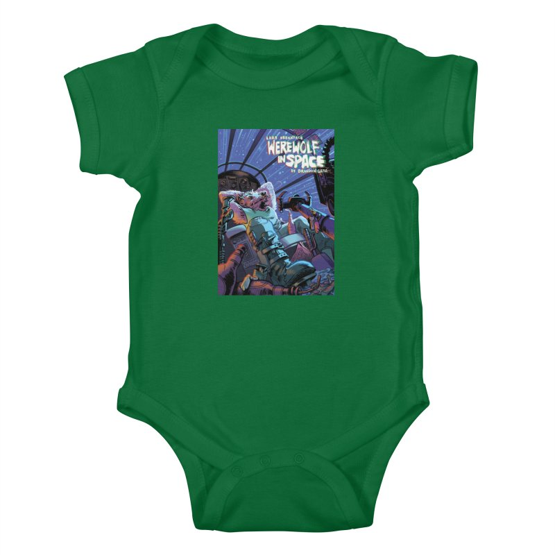 Lars Breaxface Cover - Jonas Goonface Kids Baby Bodysuit by Spaceboy Books LLC's Artist Shop