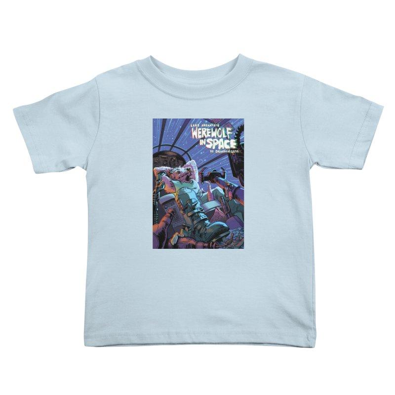 Lars Breaxface Cover - Jonas Goonface Kids Toddler T-Shirt by Spaceboy Books LLC's Artist Shop