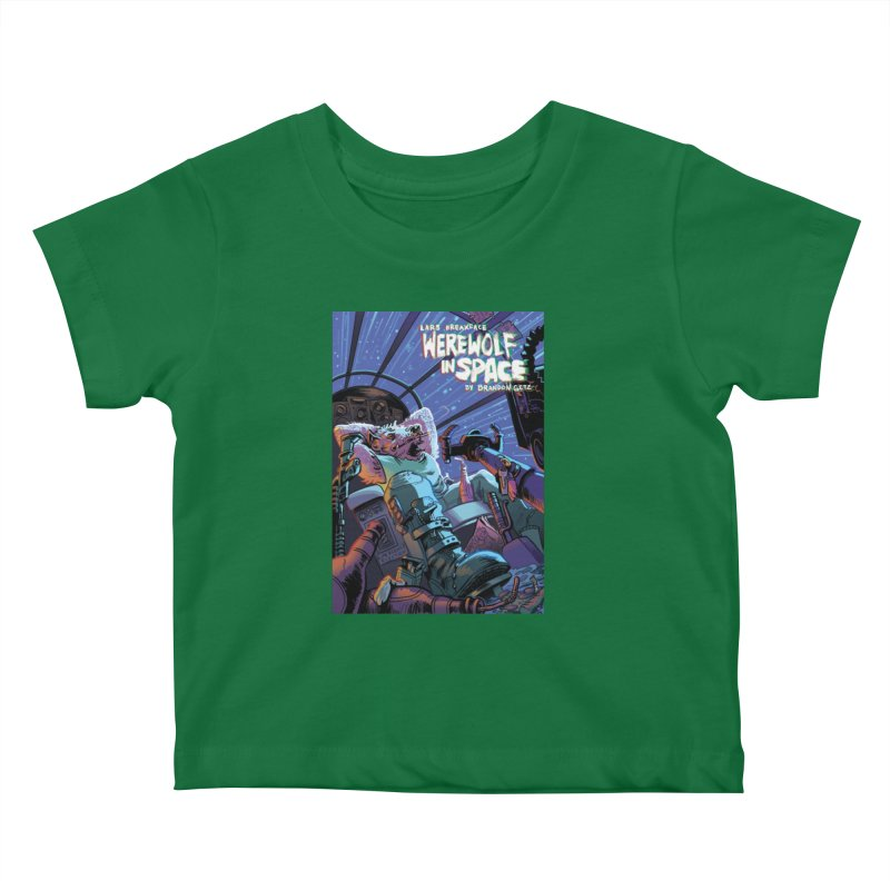 Lars Breaxface Cover - Jonas Goonface Kids Baby T-Shirt by Spaceboy Books LLC's Artist Shop