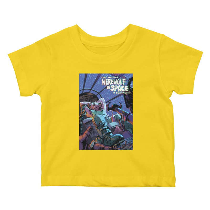 Lars Breaxface Cover - Jonas Goonface Kids Baby T-Shirt by Spaceboy Books LLC's Artist Shop