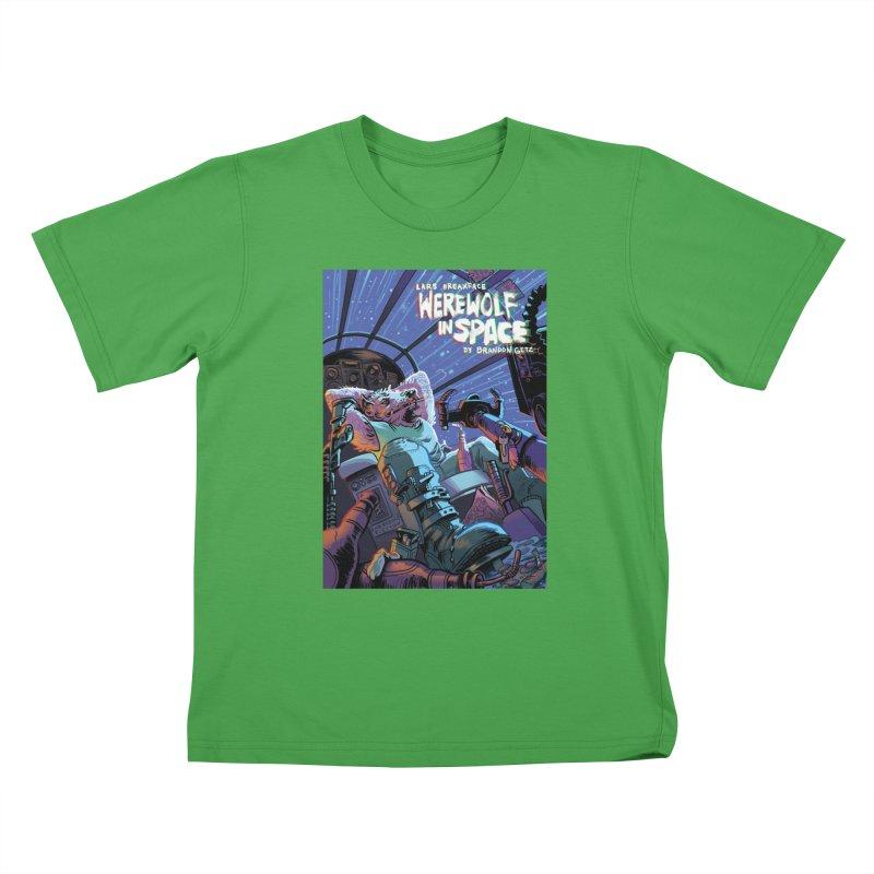 Lars Breaxface Cover - Jonas Goonface Kids T-Shirt by Spaceboy Books LLC's Artist Shop