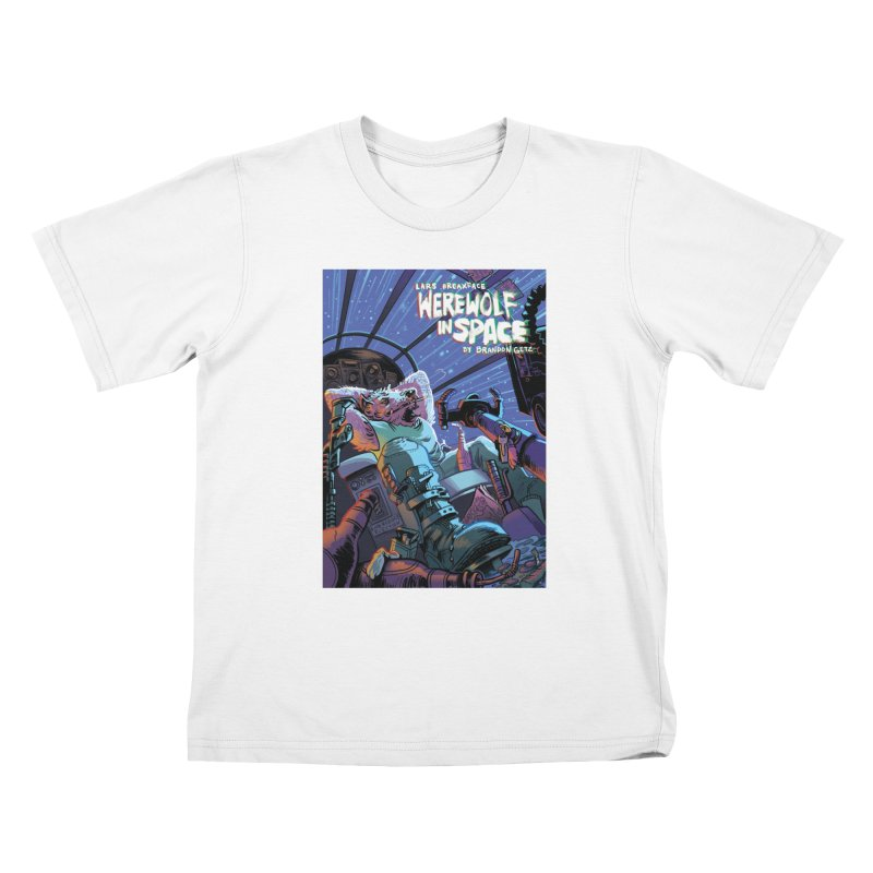 Lars Breaxface Cover - Jonas Goonface Kids T-Shirt by Spaceboy Books LLC's Artist Shop
