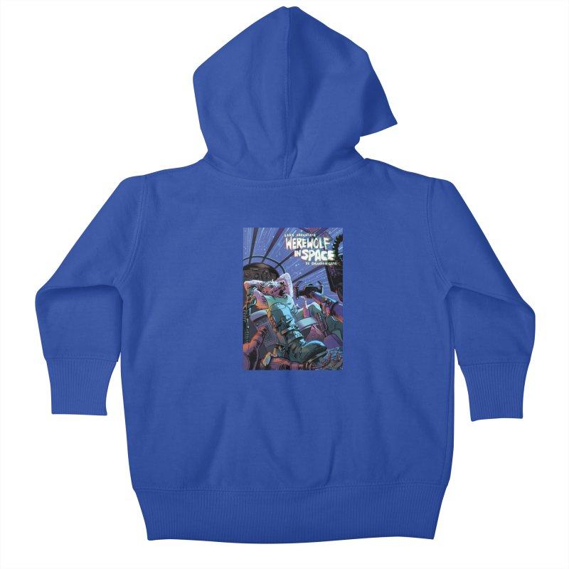 Lars Breaxface Cover - Jonas Goonface Kids Baby Zip-Up Hoody by Spaceboy Books LLC's Artist Shop