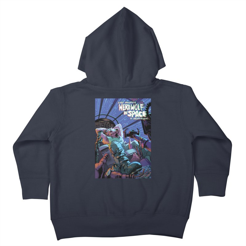 Lars Breaxface Cover - Jonas Goonface Kids Toddler Zip-Up Hoody by Spaceboy Books LLC's Artist Shop