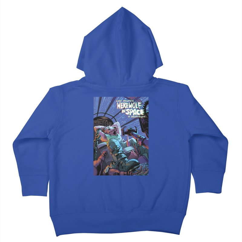 Lars Breaxface Cover - Jonas Goonface Kids Toddler Zip-Up Hoody by Spaceboy Books LLC's Artist Shop