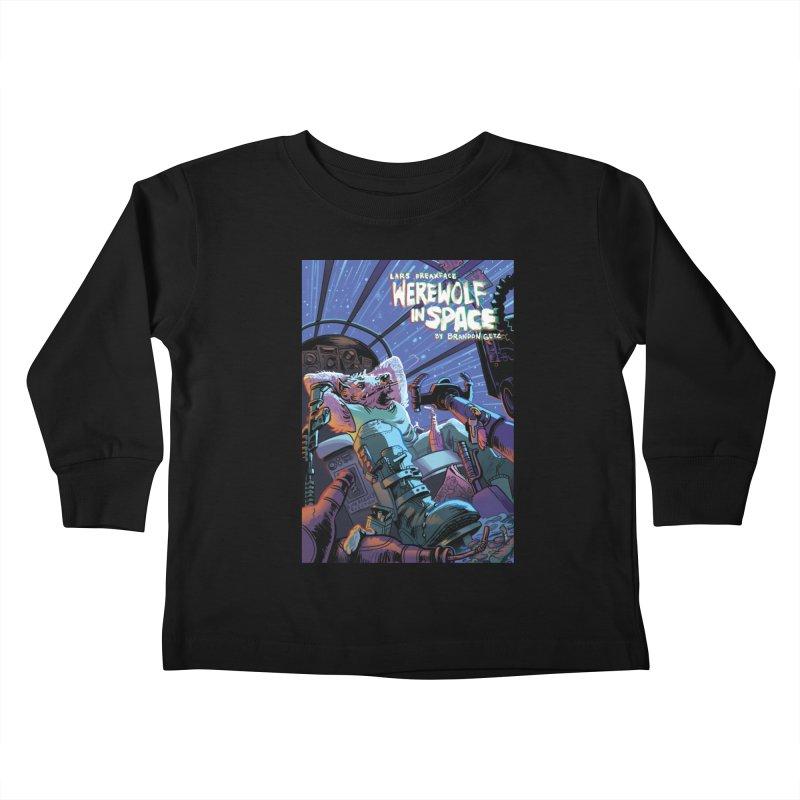 Lars Breaxface Cover - Jonas Goonface Kids Toddler Longsleeve T-Shirt by Spaceboy Books LLC's Artist Shop