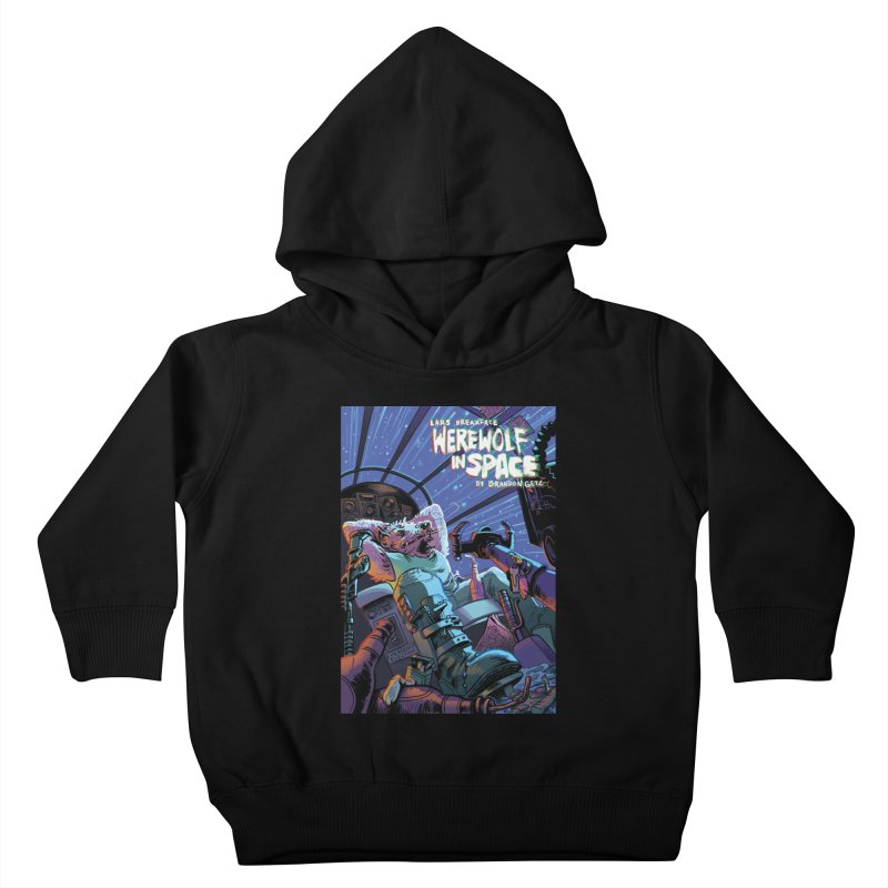 Lars Breaxface Cover - Jonas Goonface Kids Toddler Pullover Hoody by Spaceboy Books LLC's Artist Shop