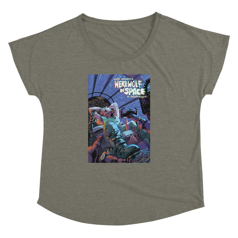 Lars Breaxface Cover - Jonas Goonface Women's Dolman Scoop Neck by Spaceboy Books LLC's Artist Shop