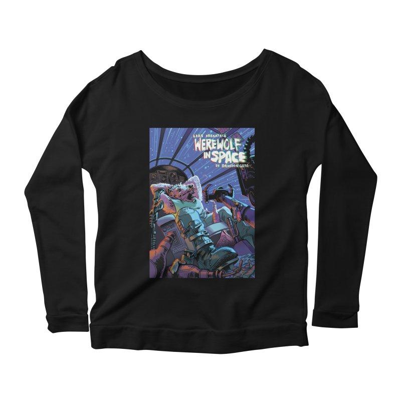 Lars Breaxface Cover - Jonas Goonface Women's Scoop Neck Longsleeve T-Shirt by Spaceboy Books LLC's Artist Shop