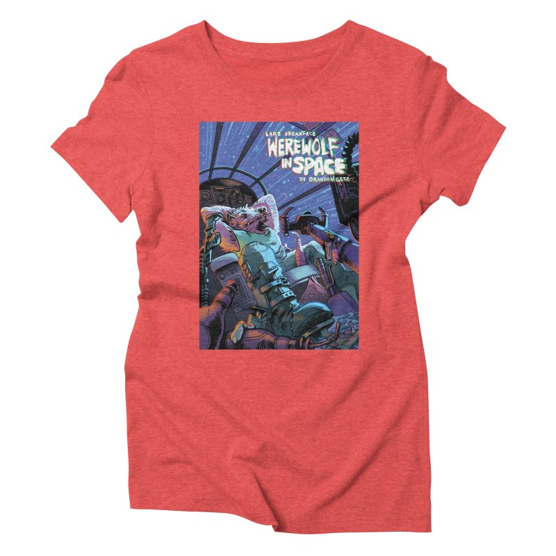 Lars Breaxface Cover - Jonas Goonface Women's Triblend T-Shirt by Spaceboy Books LLC's Artist Shop