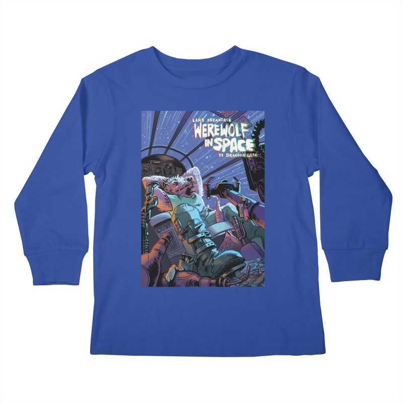 Lars Breaxface Cover - Jonas Goonface Kids Longsleeve T-Shirt by Spaceboy Books LLC's Artist Shop
