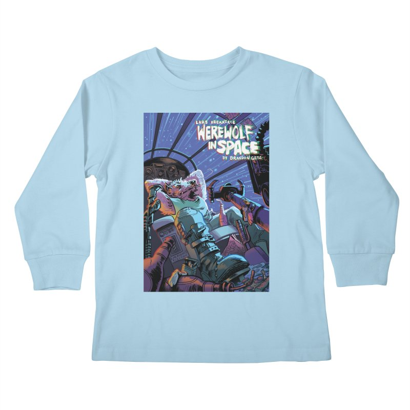 Lars Breaxface Cover - Jonas Goonface Kids Longsleeve T-Shirt by Spaceboy Books LLC's Artist Shop