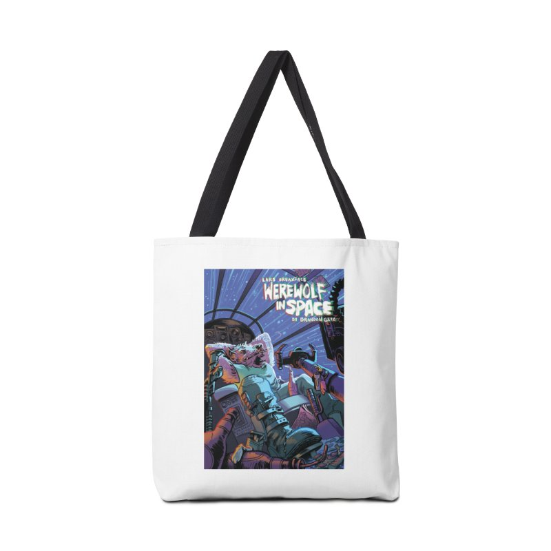 Lars Breaxface Cover - Jonas Goonface Accessories Tote Bag Bag by Spaceboy Books LLC's Artist Shop