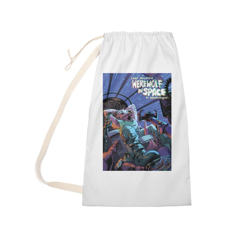 Lars Breaxface Cover - Jonas Goonface Accessories Laundry Bag Bag by Spaceboy Books LLC's Artist Shop