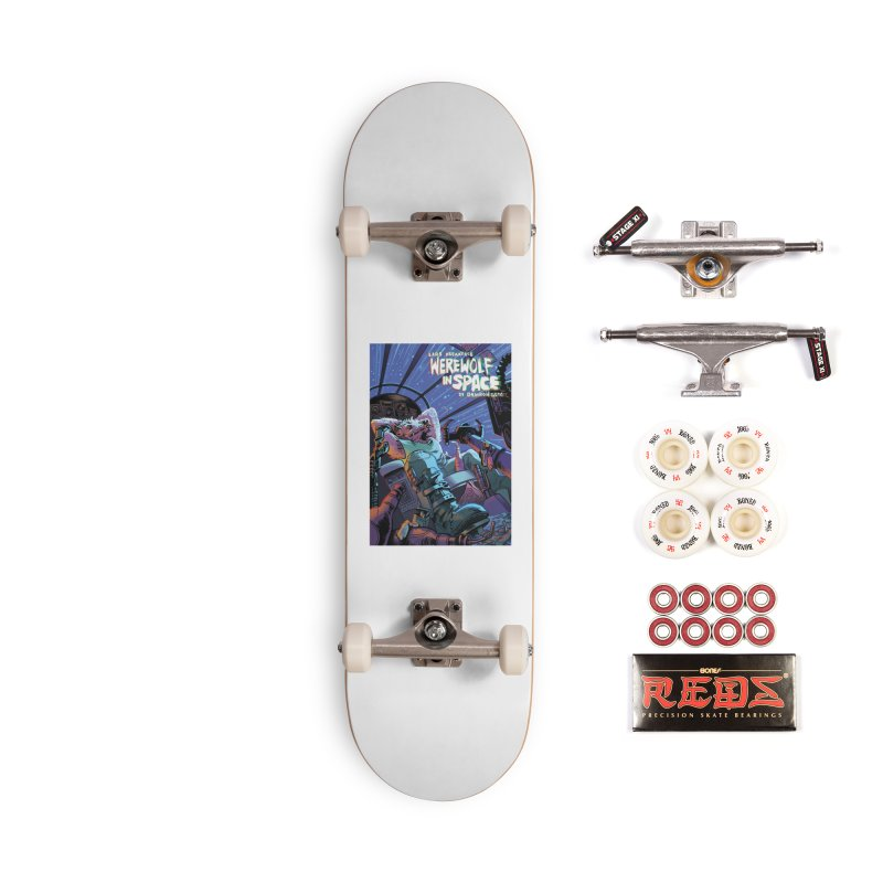 Lars Breaxface Cover - Jonas Goonface Accessories Complete - Pro Skateboard by Spaceboy Books LLC's Artist Shop