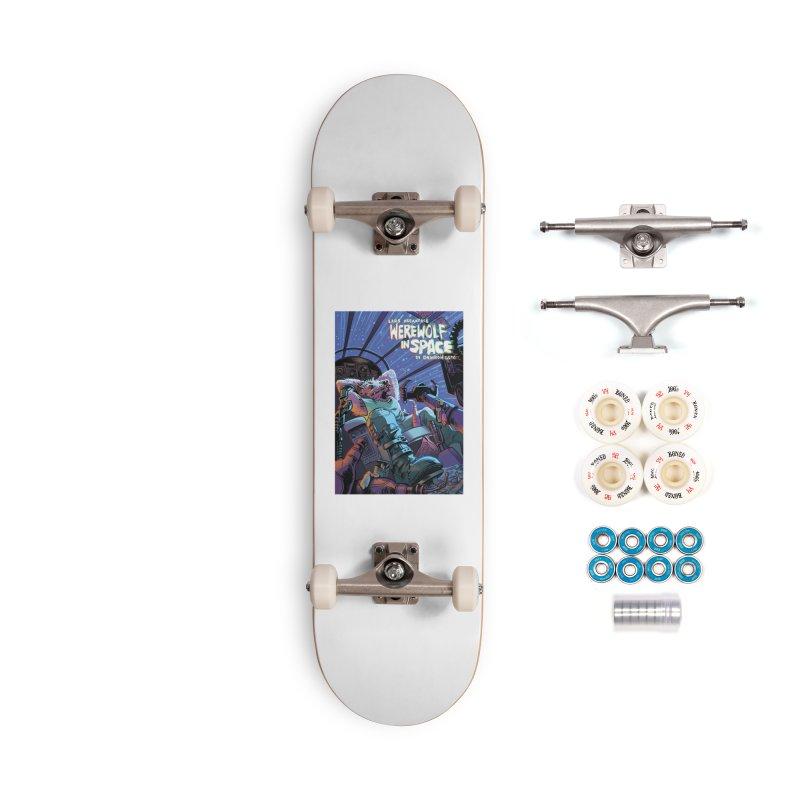 Lars Breaxface Cover - Jonas Goonface Accessories Complete - Premium Skateboard by Spaceboy Books LLC's Artist Shop