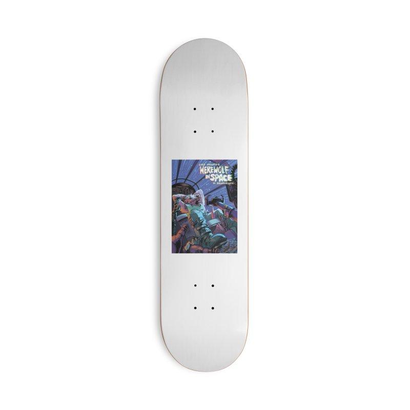 Lars Breaxface Cover - Jonas Goonface Accessories Skateboard by Spaceboy Books LLC's Artist Shop
